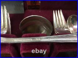 1847 Rogers Bros Silverware ETERNALLY YOURS Set in Original Box. 60 pieces