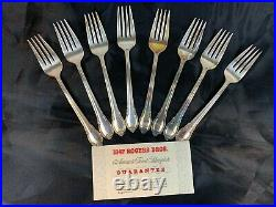 51 Pieces 1847 Rogers Bros Silverware Flatware Set Remembrance Beautiful 635
