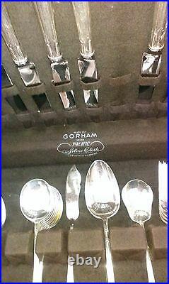51piece Silver Plate Flatware Lady Caroline Circa 1933 Gorham Co Box Vintage