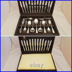 57-Piece Cutlery Set consisting of Arthur Price & Butler of Sheffield with Canteen