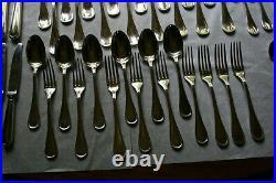 80 Pieces Christofle Albi Silverplate Flatware