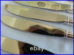 82 Piece Community Silver Plate Hampton Court Cutlery Set Canteen