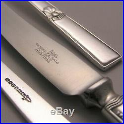 ATLANTIC Design WALKER & HALL Silver Service 67 Piece Canteen of Cutlery