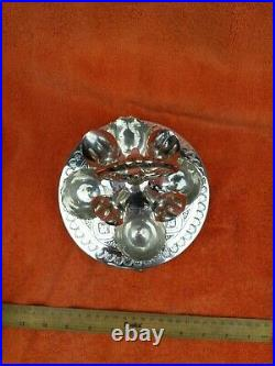 Antique Silver Plate EP 4 Piece Egg Cruet Set C1880's Cooper Brothers 656