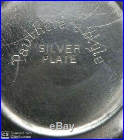 Antique vintage silver plate 4 piece tea set. Teapot, Sugar bowl, Creamer, Tray