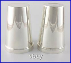 Art Deco Boston Cocktail Shaker. 2 Piece Silver Plate Gladwin Mixology c1930