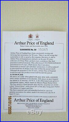 Arthur Price of England'Britannia' Silver Plated 44 Piece Canteen of Cutlery