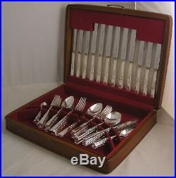 BRIGHTON Design SMITH SEYMOUR LTD Silver Service 62 Piece Canteen of Cutlery