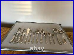 Beautiful 152 Piece Silver Plated Kings Pattern Table Canteen Of Cutlery For 12
