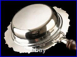 C1970 Silverplate 4 Piece Serving Pan with Rechaud