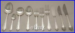 CHIPPENDALE Design ARTHUR PRICE Silver Service 76 Piece Canteen of Cutlery