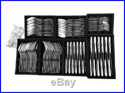 CHRISTOFLE FLATWARE MARLY SILVERPLATED 12 x 8 PLACE SETTINGS 99 PIECES USED