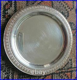 CHRISTOFLE MALMAISON BREAD/BUTTER PLATES TOTAL 8 pieces