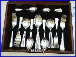 Canteen Arthur Price 51 Piece 6 Place Setting Cutlery Grecian Des Read Condition