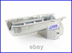 Canton 15-244T Oil Pan For Small Block Chevy F Body Road Race Pan 1 Piece Seal