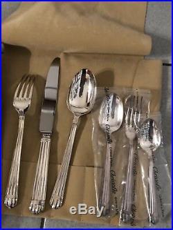 Christofle ARIA LA TROUSSE 1 Place settings 6 pieces silver plate