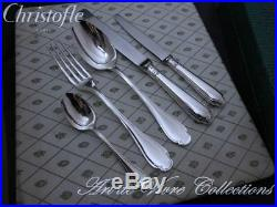 Christofle / Alfenide POMPADOUR 12 place settings, 61 pieces Dinner Table set