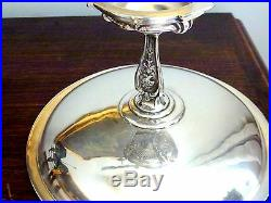 Christofle Antique Server / Presentation Silver Plated Dish Centre Piece