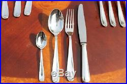 Christofle Berain Coquile Silver Plated 24 Pieces Set in Six setting