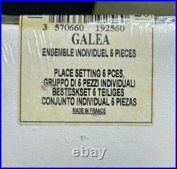 Christofle France Silver Plated Galea 57 Piece Service 11 Flatware Set Sealed
