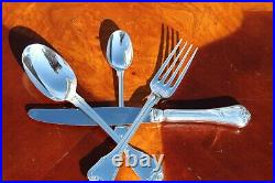 Christofle Port Royal Silver Plated 24 Pieces Set in Six Settings