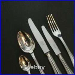 Christofle SPATOURS 12 place settings, 61 pieces Dinner Table set