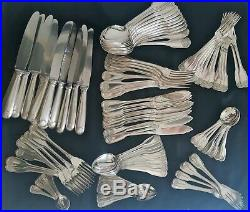 Christofle Vendome Coquille Menagere 134 Pieces Metal Argente Silver Plated Ttbe