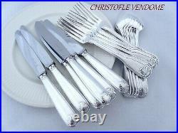 Christofle Vendome Pattern Flatware 18 pieces