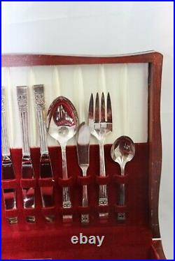 Community Coronation Silverplate Flatware Set Service for 8 62 Pieces