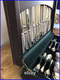 DUBARRY Design 86 Piece BUTLER CAVENDISH Canteen Of Silver Plate Cutlery EPNS A1