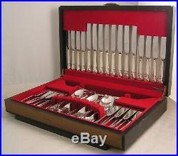 DUBARRY Design CORK & SON Sheffield Silver Service 87 Piece Canteen of Cutlery