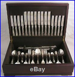 DUBARRY Design MAPPIN & WEBB Silver Service 87 Piece Canteen of Cutlery