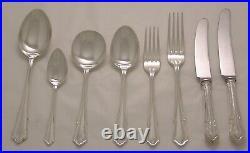 DUBARRY Design OSBORNE SILVERSMITHS Silver Service 58 Piece Canteen of Cutlery