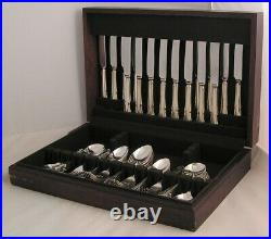 DUBARRY Design UNITED CUTLERS Silver Service 60 Piece Canteen of Cutlery