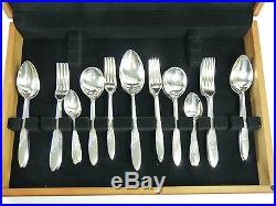 ELKINGTON Cutlery OPHELIA Pattern 88 Piece Canteen Set for 12