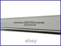 ELKINGTON Cutlery SALISBURY / AEGEAN Pattern 73 Piece Canteen Set for 8