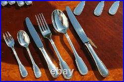 ERCUIS Perles Silver Plated 36 Pieces Flatware Set