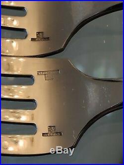 Estate Christofle Flatware Cluny Pattern 52 Piece Set