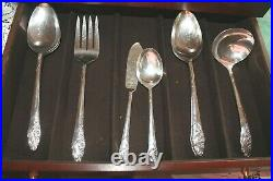 Evening Star Community Silverplate Service for 12 Plus Serving Pieces (80)
