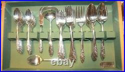 Evening Star Community Silverplate Service for 12 Plus Serving Pieces (82)