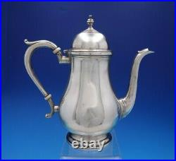 Exemplar by Watson Sterling Silver Tea Set 5-Piece with Silverplate Tray (#4574)
