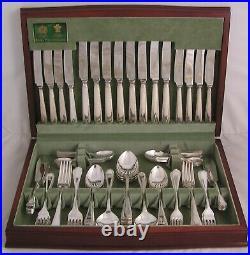 FEATHER EDGE Design ARTHUR PRICE Silver Service 84 Piece Canteen of Cutlery