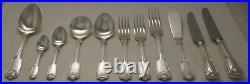 FIDDLE THREAD & SHELL Design BUTLER Silver Service 84 Piece Canteen of Cutlery