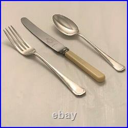 GRECIAN Design ALEXANDER CLARK LTD Silver Service 44 Piece Canteen of Cutlery