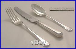 GRECIAN Design JOHN STEPHENSON Silver Service 82 Piece Canteen of Cutlery