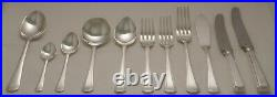 GRECIAN Design SHEFFIELD ENGLAND Silver Service 124 Piece Canteen of Cutlery