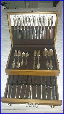 Gowe/Wellner 90 Silver Plated Table Cutlery 12 Persons (72-2) Pieces