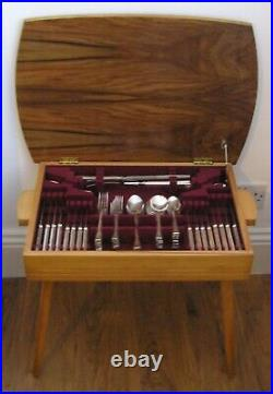 HARLEY Design JOSEPH RODGERS Silver Service 71 Piece Canteen of Cutlery
