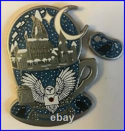 Harry Potter Laserbrain Patch Co LE Silver Snowy Hedwig & Letter Teacup + Bean