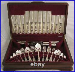 KINGS Design DAWSON Sheffield England Silver Service 69 Piece Canteen of Cutlery